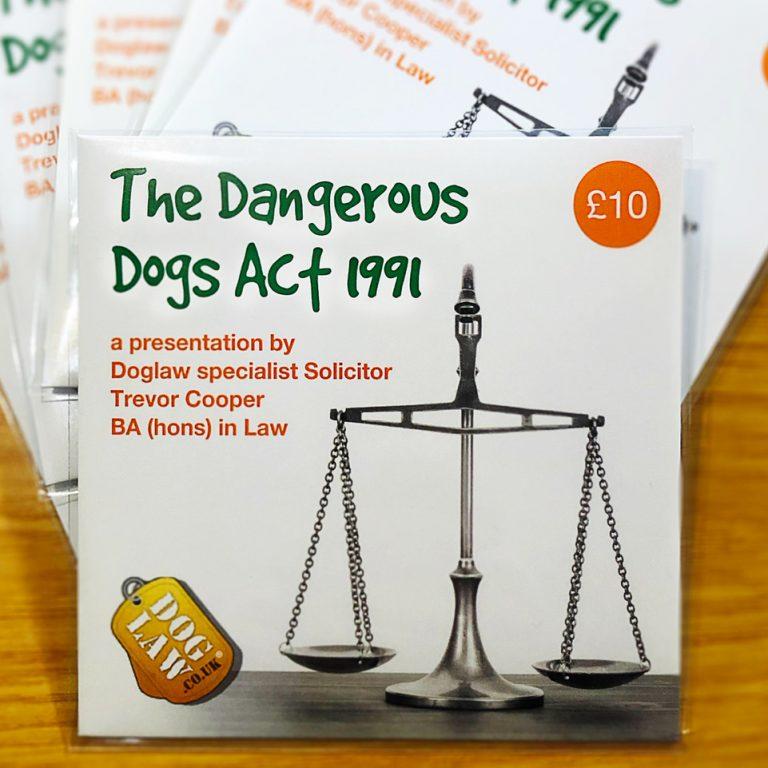 Dangerous Dogs Act DVD